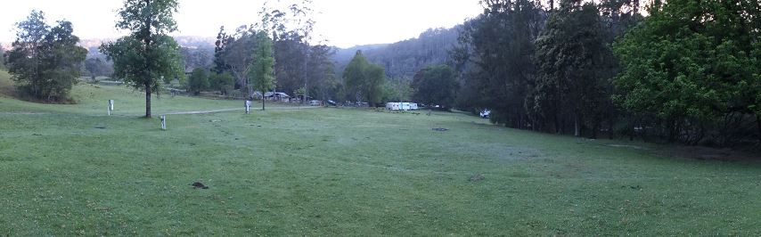 Ferndale Park camp grounds
